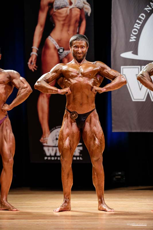 Brett Freeman, 2018 Pro Worlds Men's Bodybuilding Champion, Lightweight Class
