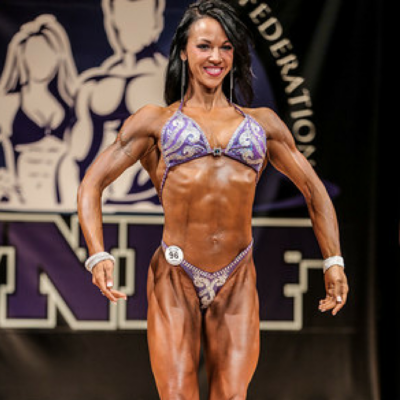 2014 WNBF Figure Tall World Champion Heather Drake Boston Massachusetts