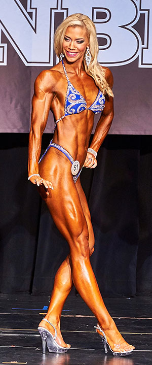 Sophie Browne WNBF Pro World Champion Fit Body Judging Criteria 2017