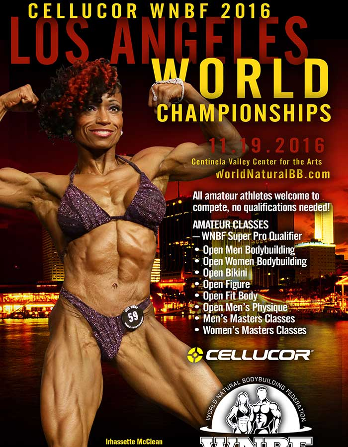 2016 WNBF Championships Los Angeles CA