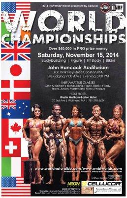 2014 WNBF Pro Worlds Boston MA
