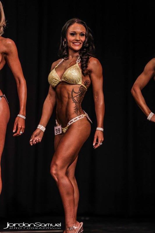 WNBF Figure Pro Melinda Corssino