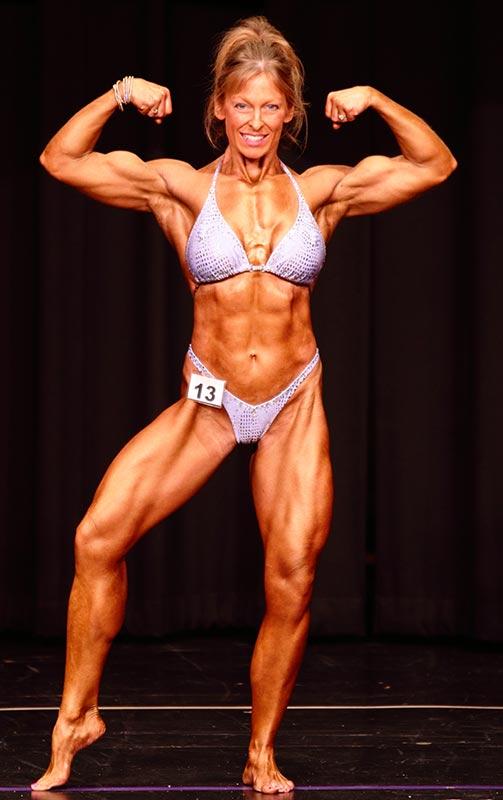 Natural Body Builder Women