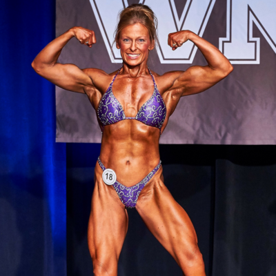 Cathy Vail 2017 WNBF Pro World Champion Los Angeles California