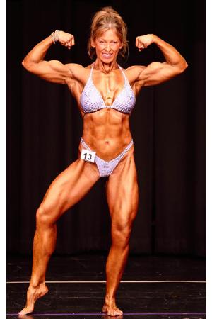 WNBF Pro Bodybuilder Cathy Vail