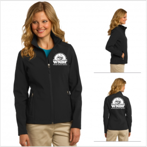 Women's WNBF Professional Soft Shell Jacket