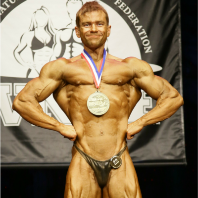 2015 WNBF Pro Overall Champion Brian Whitacre Atlantic City New Jersey