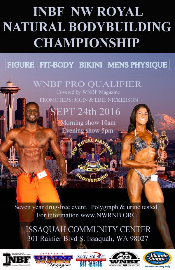 2016 INBF Northwest Royal Natural WNBF Pro Qualifier Issaquah Washington
