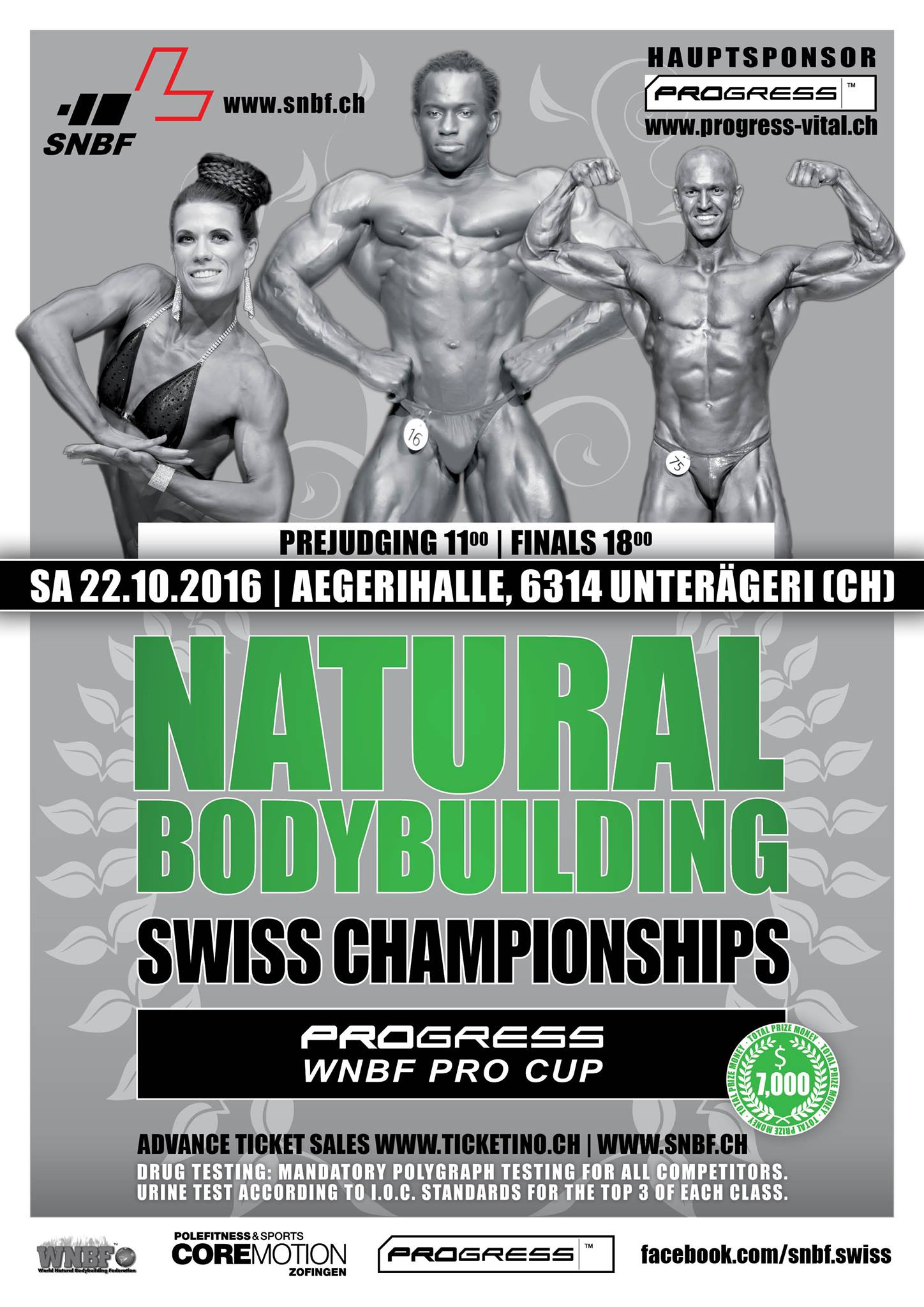 Wnbf Pro Swiss Natural Championships Pro Am World Natural