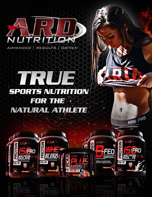 ARD Nutrition WNBF Magazine Ad 2016