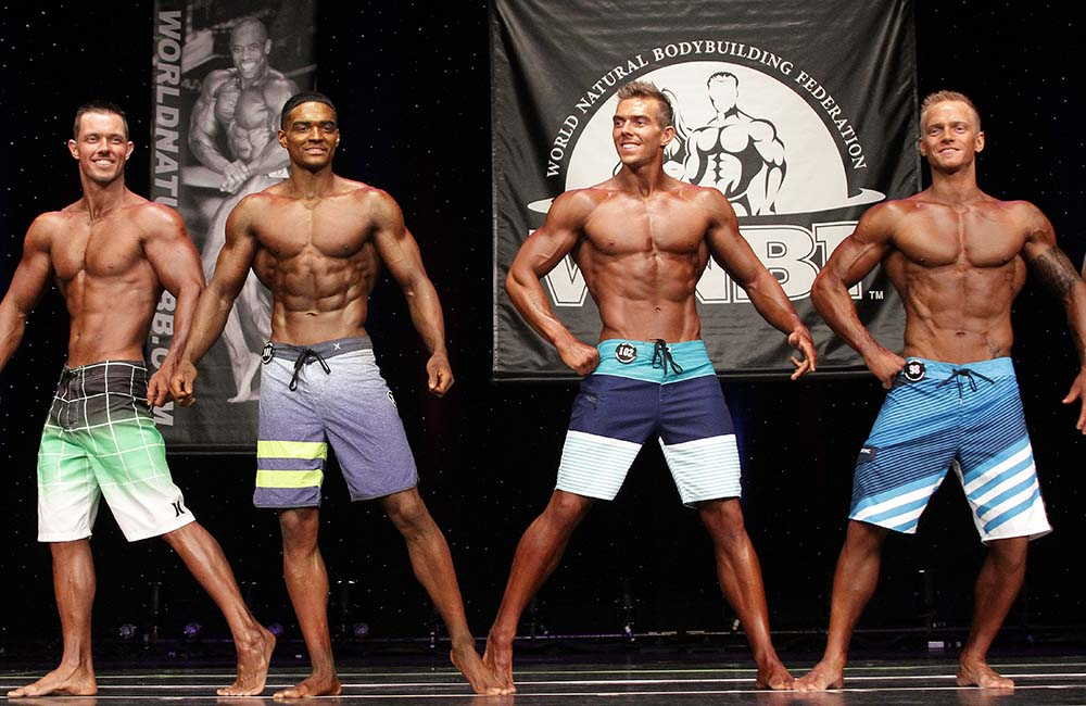2015 WNBF Pro Worlds Men's Physique Finalists