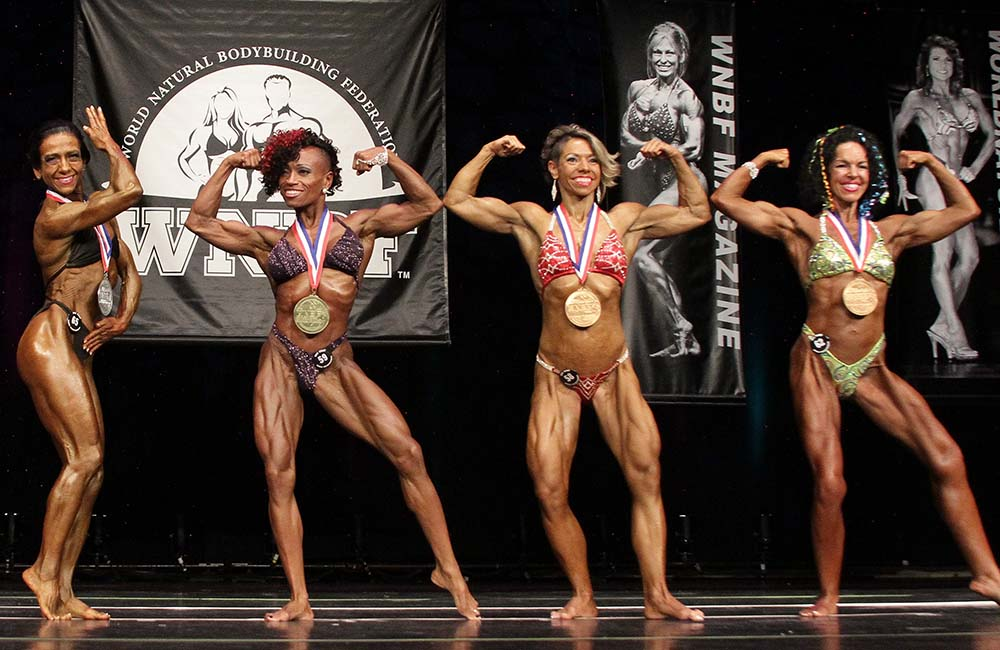 2015 WNBF Pro World Women's LW Bodybuilding