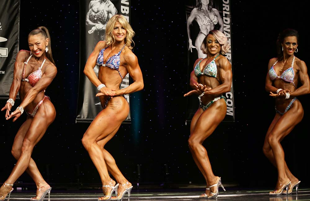 2015 WNBF Pro Worlds Fit Body Competitors