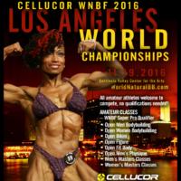 2016 Worlds LA Irhassette McClean 2015 INBF WNBF Pro World Championships Announcement