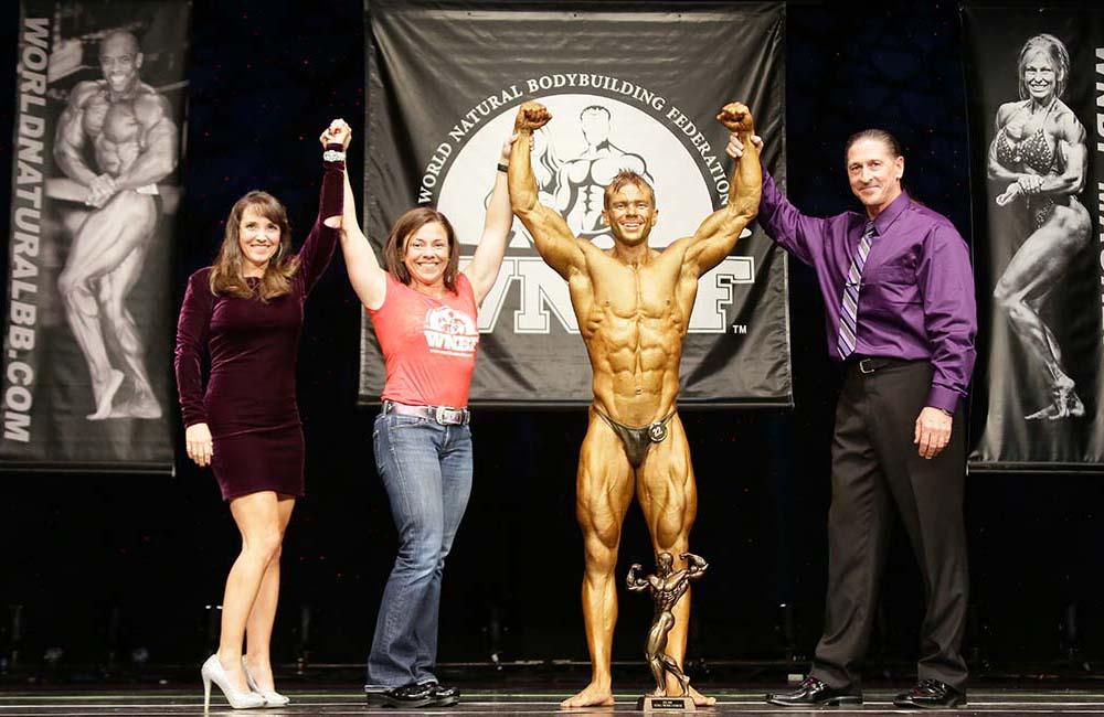 Brian Whitacre 2016 WNBF Overall Bodybuilding Champion WNBF Pro Worlds 2015
