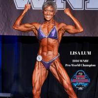 Lisa Lum 2016 Pro World Champion Los Angeles California