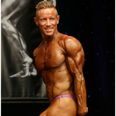 Thomas Rasmussen WNBF Professional President of DFNA WNBF Featured Athlete