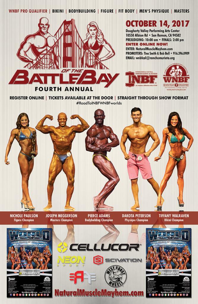 2017 INBF Battle of the Bay WNBF Pro Qualifier San Ramon, California