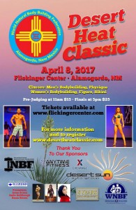 2017 INBF Desert Heat WNBF Pro Qualifier Alamogordo New Mexico