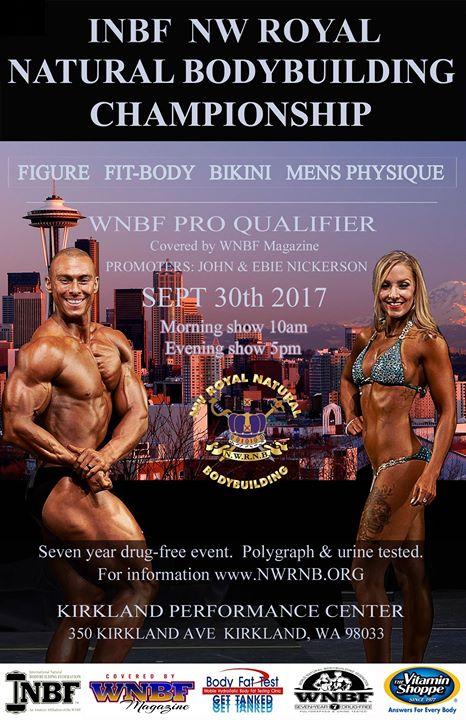 2017 INBF Northwest Royal Natural WNBF Pro Qualifier Kirkland Washington