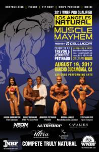 2017 INBF Los Angeles Natural Muscle Mayhem