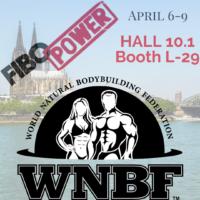 2017 FIBO Announcement WNBF Exhibitor Cologne WNBF Germany