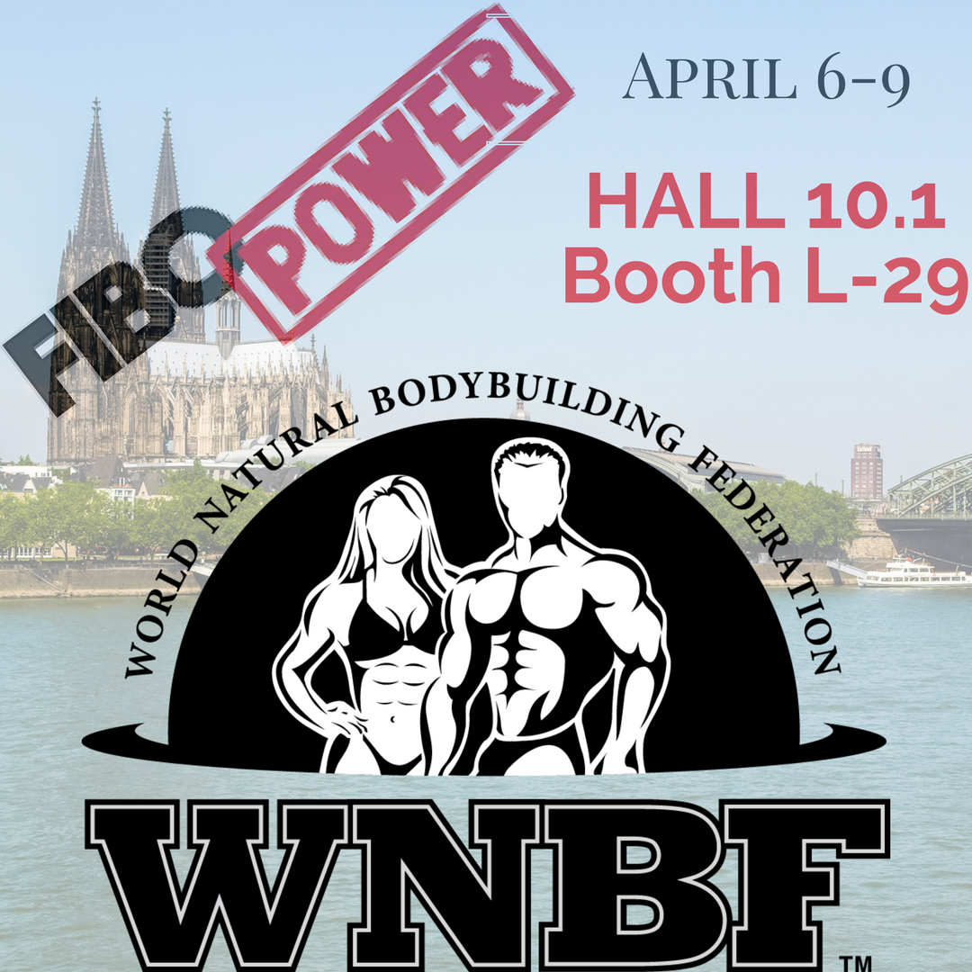 2017 FIBO Announcement WNBF Exhibitor Cologne WNBF Germany