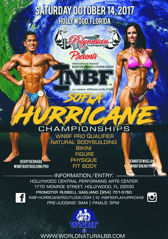 INBF South Florida Hurricane Championships 2017