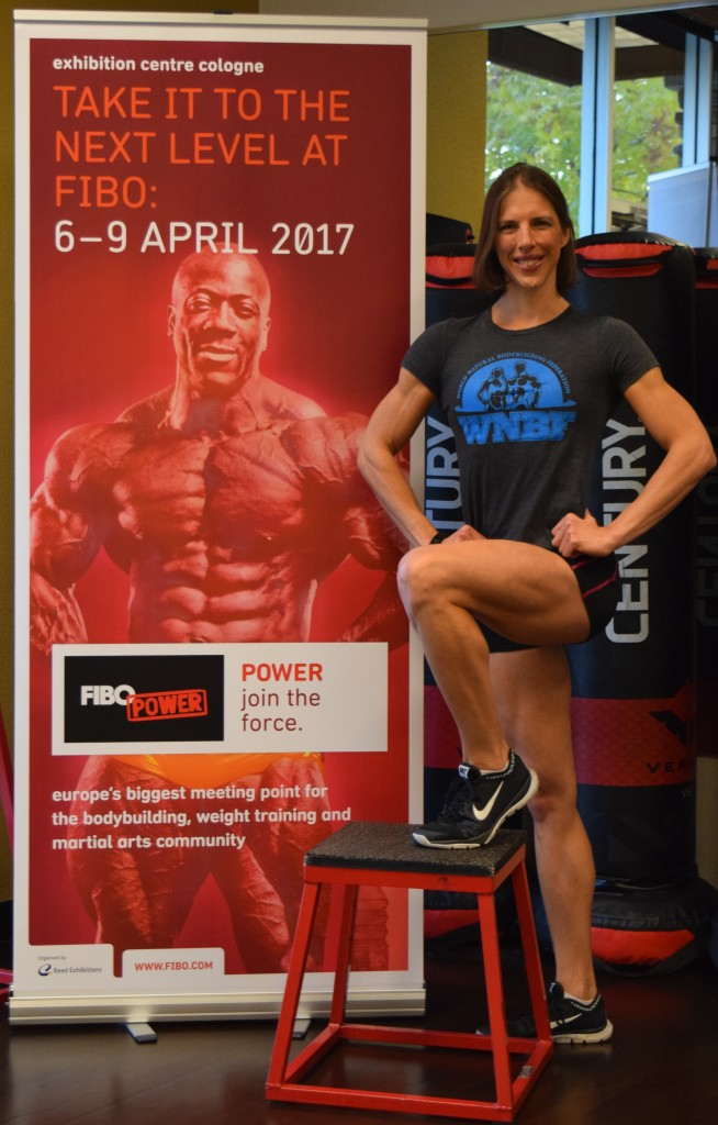 WNBF Pro Figure Champion Chrissy Zmijewski FIBO 2017 Announcement
