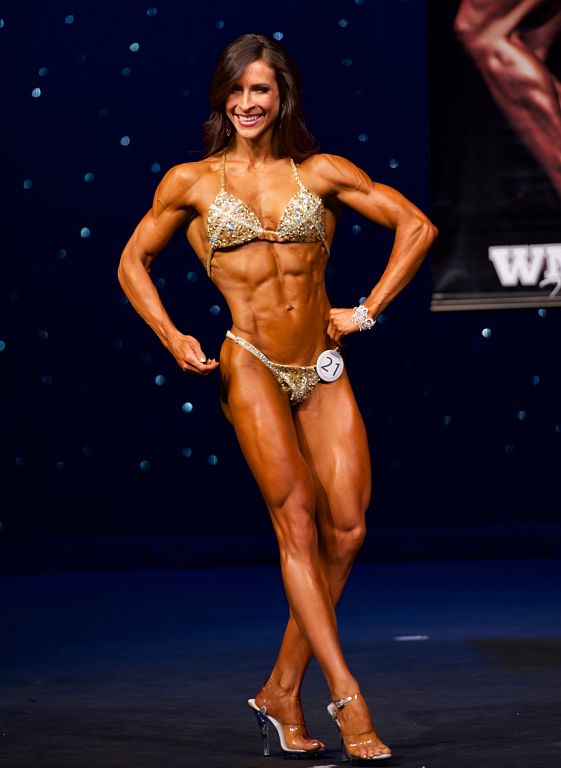 Hayley Hirshland 2016 WNBF Pro USA Figure Runner Up