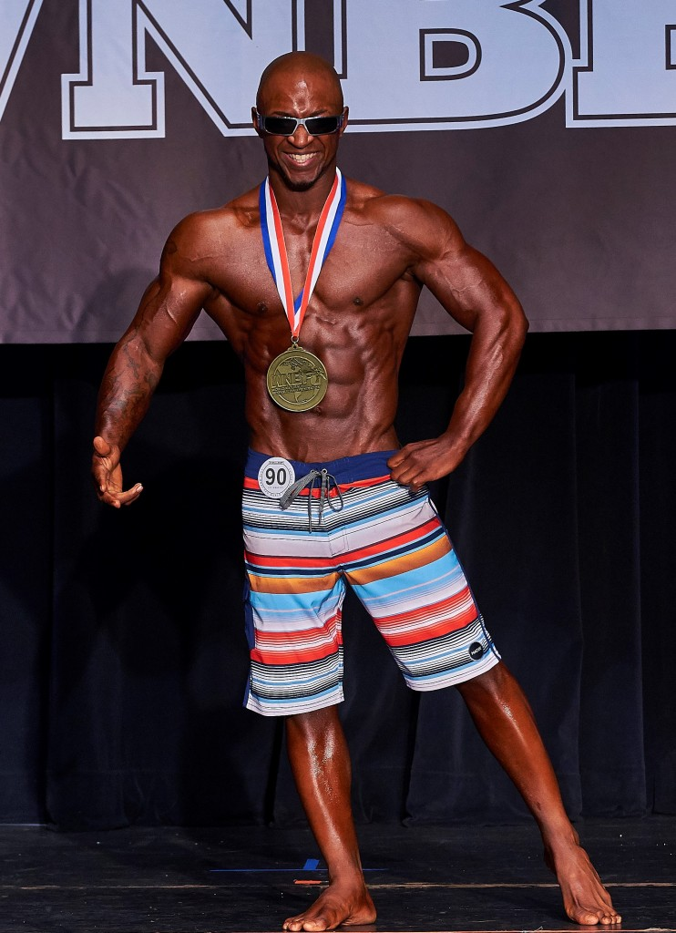 2016 Cellucor WNBF Pro World Mens Physique Champion Los Angeles