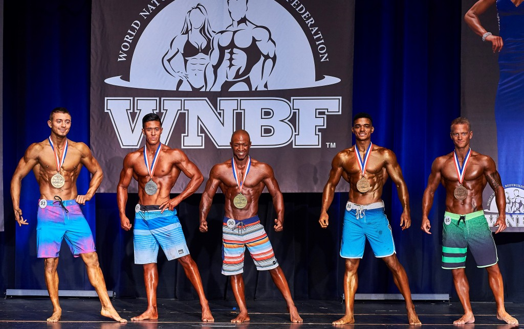 2016 Cellucor WNBF Pro World Mens Physique Top 5 Los Angeles