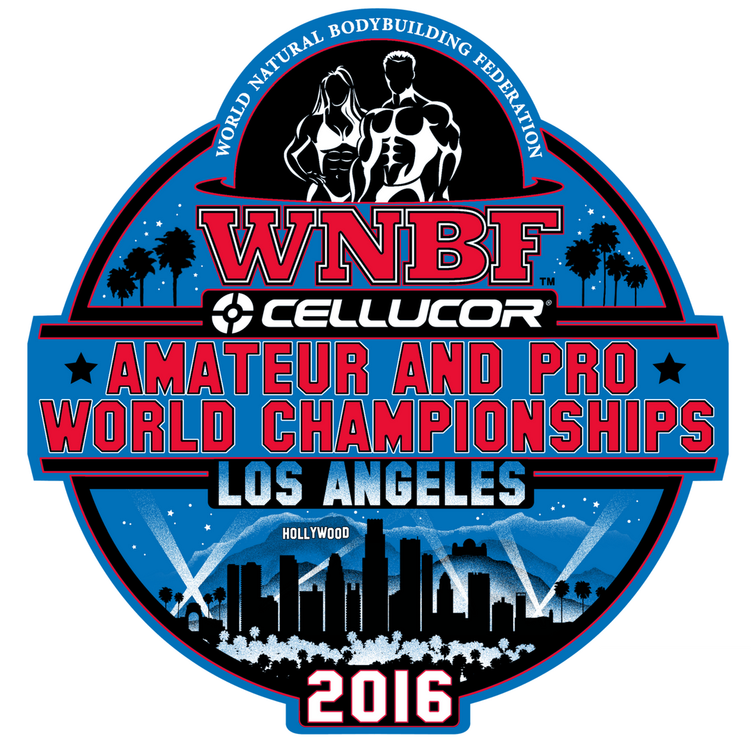 2016 INBF WNBF Worlds Logo Los Angeles California