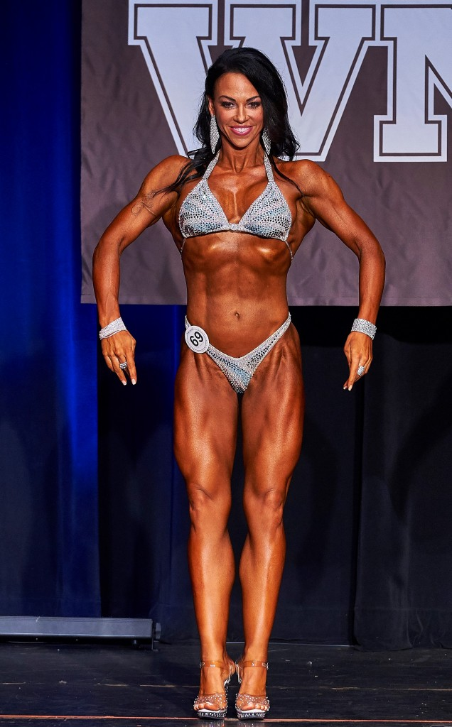 2017 Cellucor WNBF Pro World Overall Figure Champion Heather Drake Los Angeles California