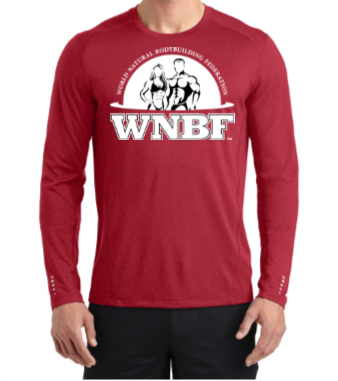 WNBF Ogio Long Sleeve Red