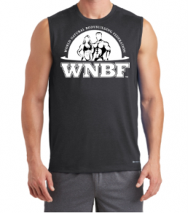WNBF Ogio Sleeveless Tank Black