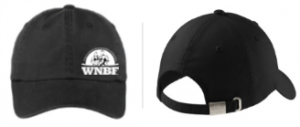 WNBF Womens Adjustable Black Cap