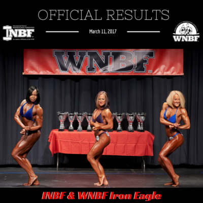Results 2017 INBF WNBF Iron Eagle