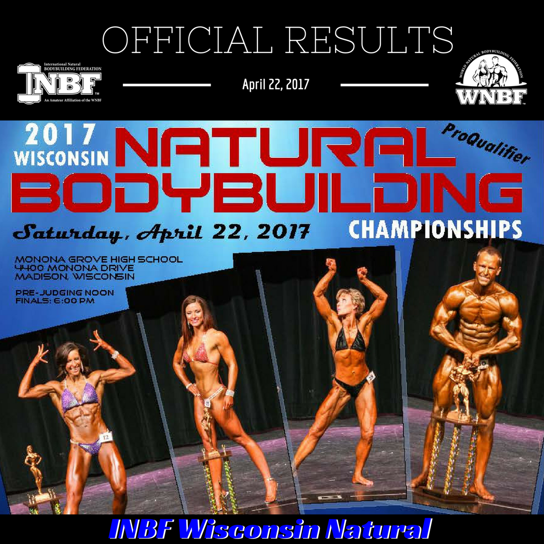 Results 2017 INBF Wisconsin Natural