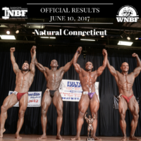 2017 INBF Natural Connecticut Mens Bodybuilding Middle Weight Class