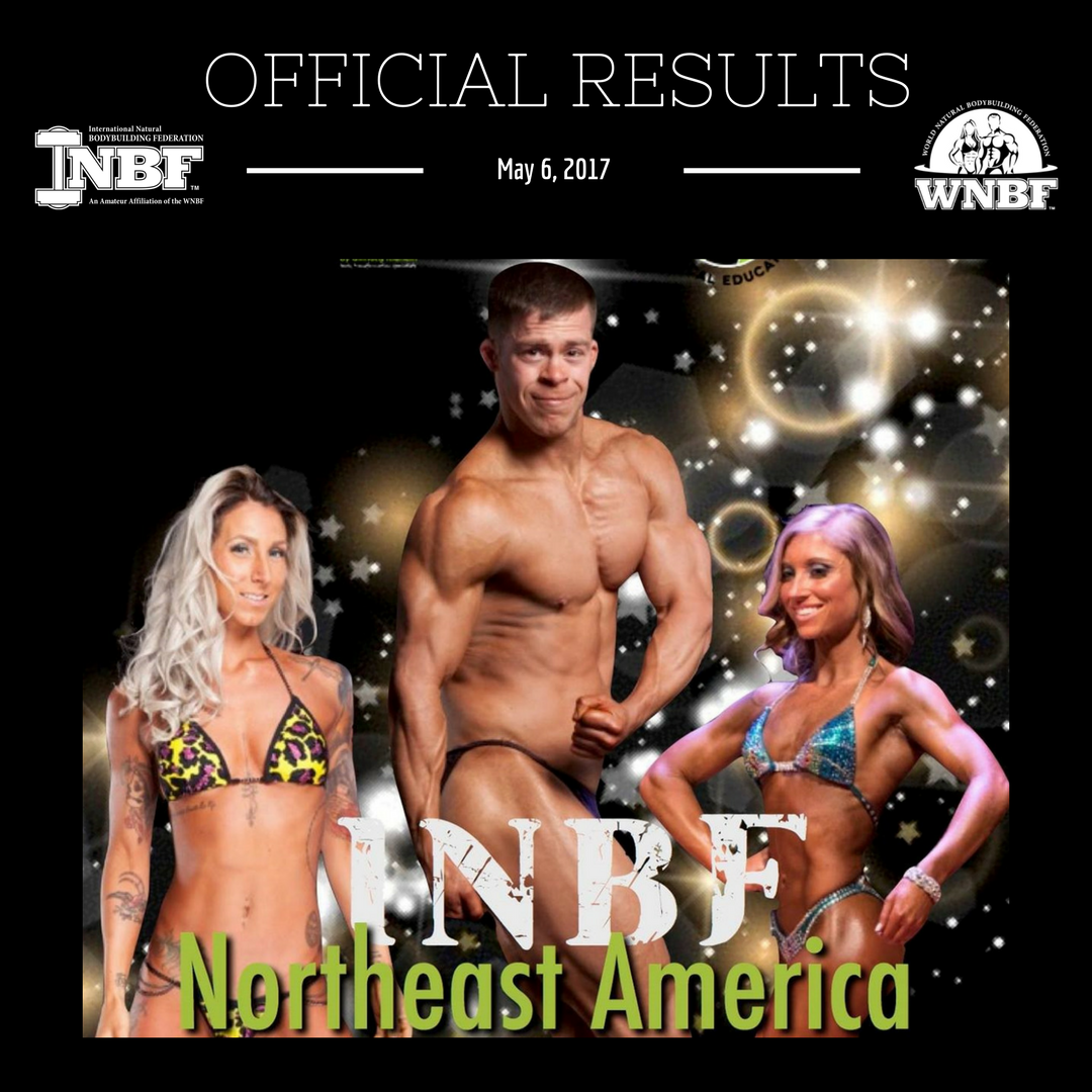 2017 INBF Northeast America Official Results