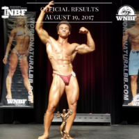 Results 2017 INBF L.A. Natural Muscle Mayhem Natural Bikini, Bodybuilding, Figure, Fit Body, and Men's Physique Drew DeCoud