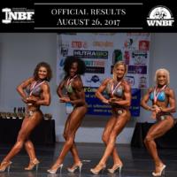 Results 2017 WNBF Pro Extravaganza Pro Fit Body Augusta, Georgia