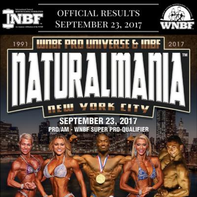 2017 WNBF Pro Universe INBF Naturalmania WNBF Pro Qualifier New York