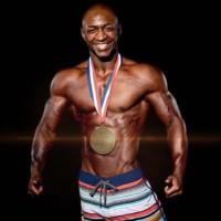 2016 WNBF Pro World Men's Physique Champion Melvin Ortiz Los Angeles California
