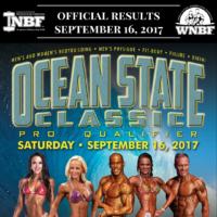 Results 2017 INBF Ocean State Classic WNBF Pro Qualifier Providence Rhode Island