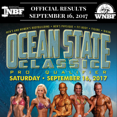 Results 2017 INBF Ocean State Classic WNBF Pro Qualifier Providence Rhode Island
