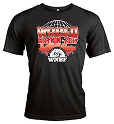Mens 2017 WNBF Worlds Tshirt