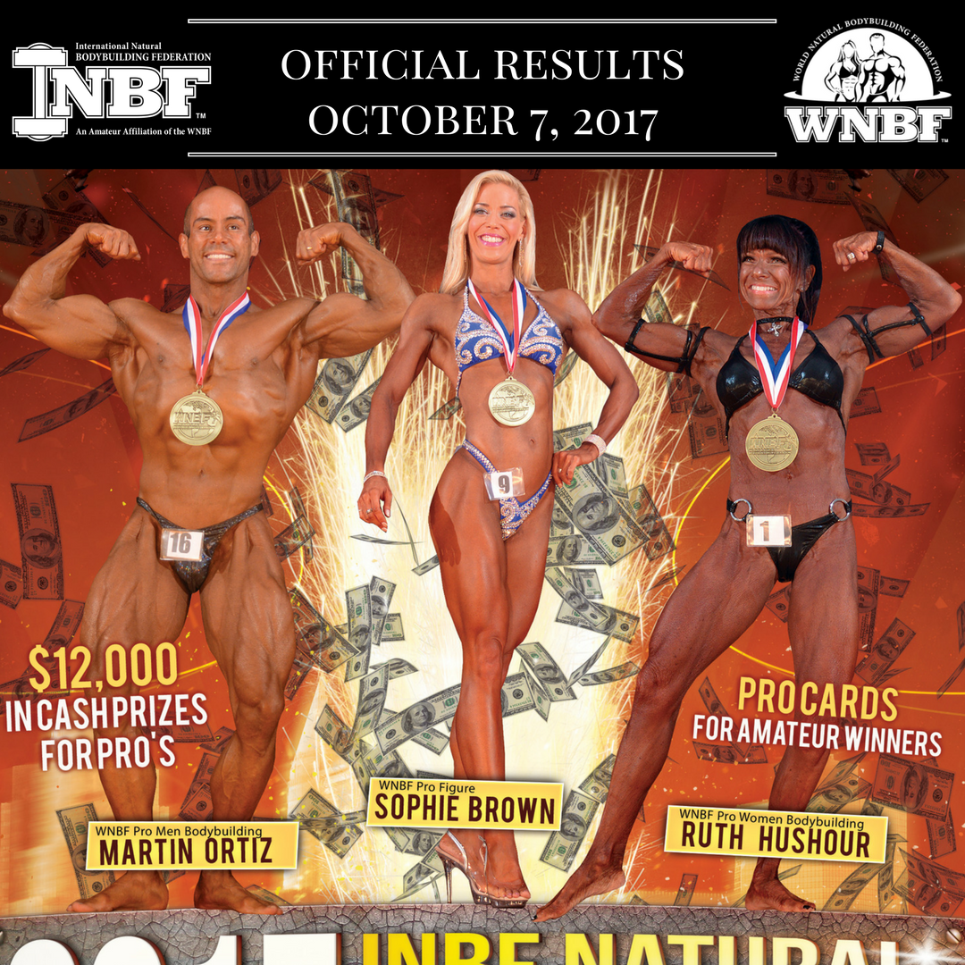 2017 WNBF US Pro Cup INBF Autumn Explosion, New Haven, CT