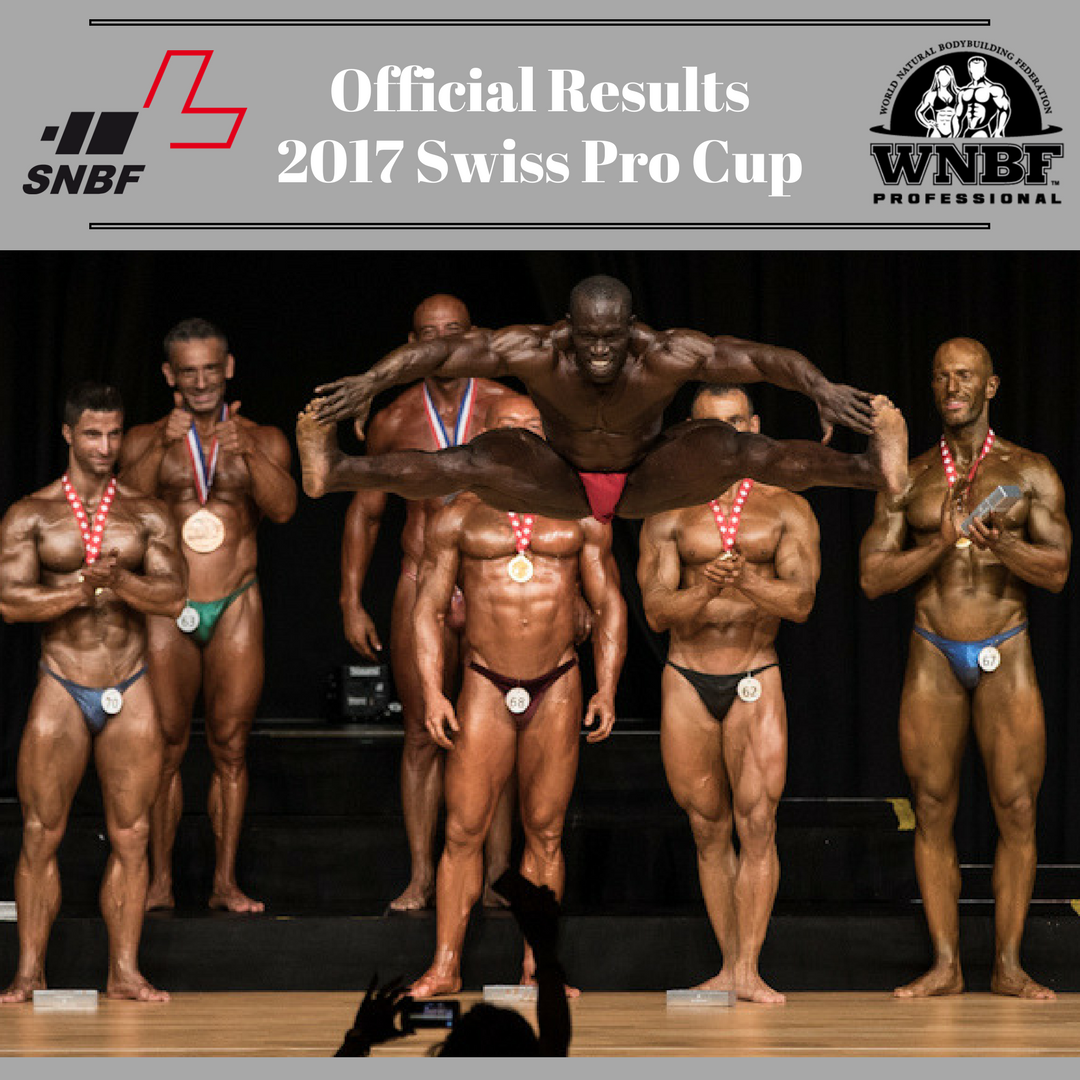 Results 2017 WNBF Swiss Pro Cup SNBF Switzerland World Affiliate